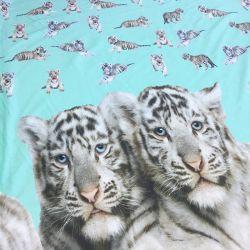 Tissu Jersey imp digitale tigre v