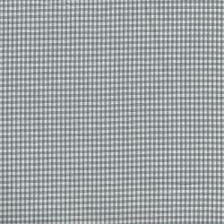 Tissu coton vichy gris