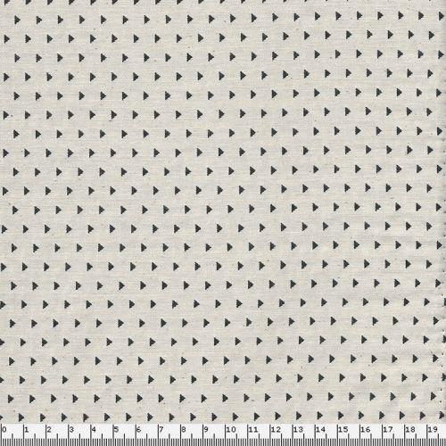 Tissu Jackard géométrique