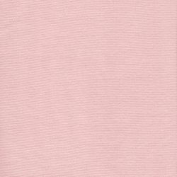 Tissu bord-côte rose