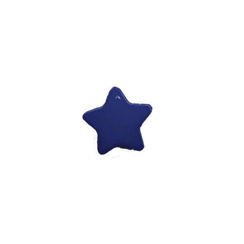 Bouton étoile bleu