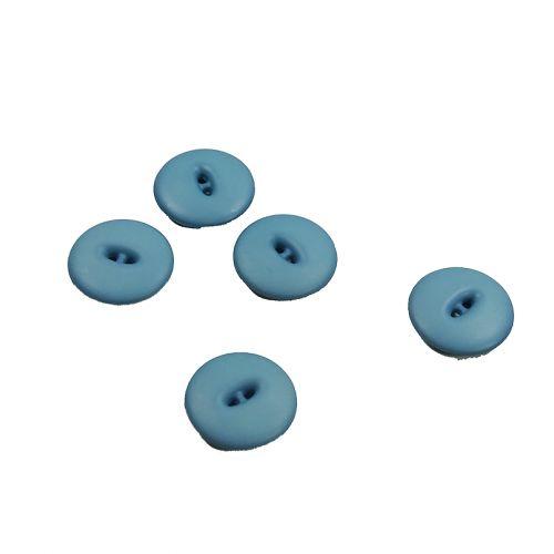 Bouton bleu 18 mm