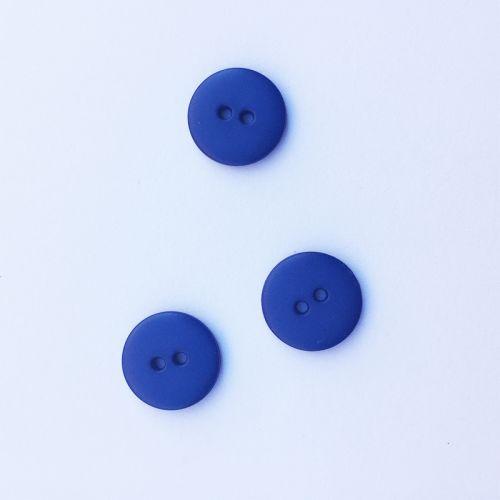 Bouton uni bleu marine
