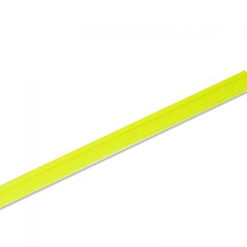 Passepoil 10 mm jaune fluo