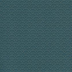 Tissu coton japonais soleil levant