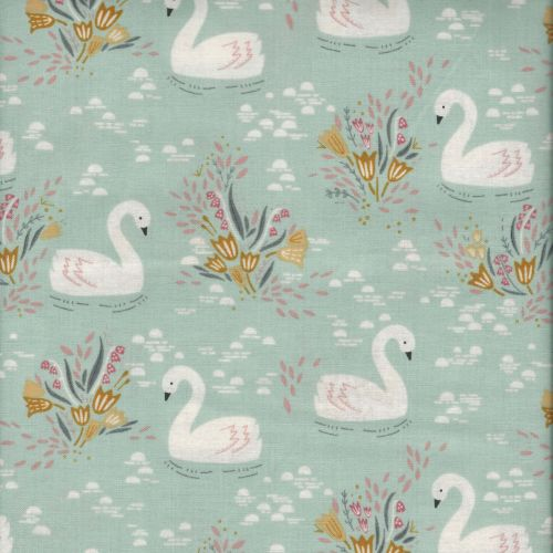 Tissu Cygnes collection Dovestone - Dashwood studio