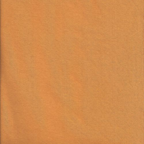 Tissu sweat moutarde uni larg 150 70%cot/30%pol