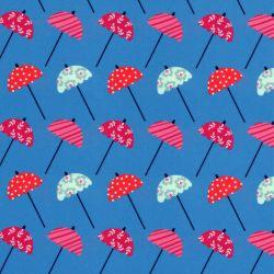 Tissu maillot de bain parasols