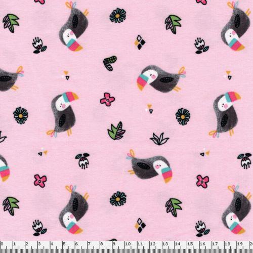 Jersey toucans fond rose