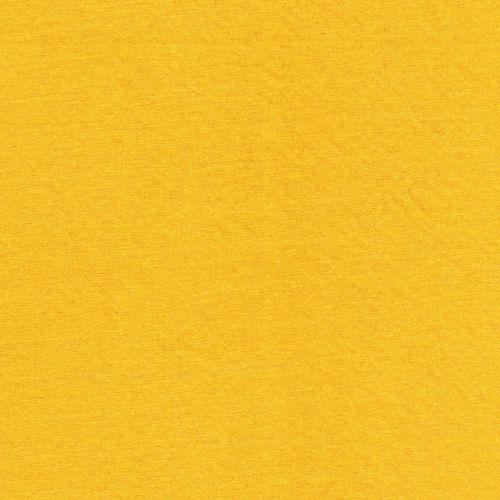 Tissu maille polo jaune 55%vis/45%pa larg 155 cm