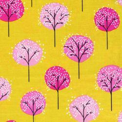 Tissu 100% coton Michael Miller arbres sucettes 110cm