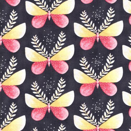 Tissu papillons de nuit Michael Miller