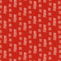Tissu sweat matrix marsala 95%cot/5%el larg 150 cm