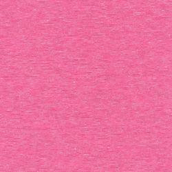 Tissu sweat léger fines rayures rose