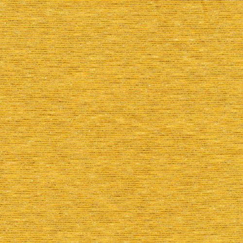 Tissu sweat léger rayures jaune 85%co/9%pol/6%el larg 160 cm