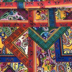 Tissu toile de coton demi-natté  Gipsy
