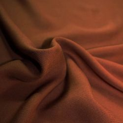 Tissu viscose serge caramel - Eglantine et Zoé