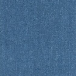 Tissu viscose et lin bleu denim