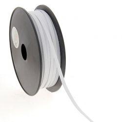 Élastique maille 5 mm blanc