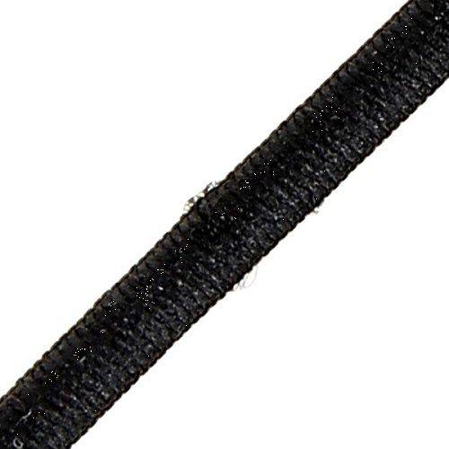Cordon élastique diamètre 3 mm noir