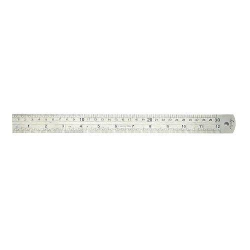 Reglet 30cm metal