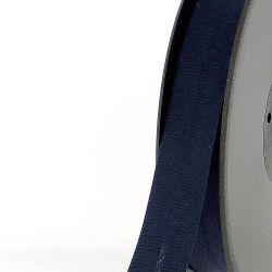 Biais replié 20 mm bleu marine