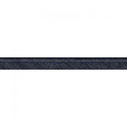 Passepoil bleu jean largeur 10 mm