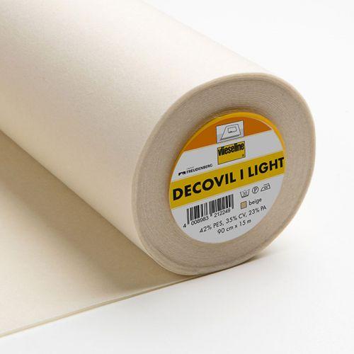 Decovil Light beige 90cm thermocollant