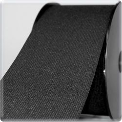 Elastique ceinture 80 mm  noir
