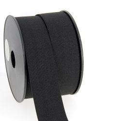 Elastique maille 40 mm noir