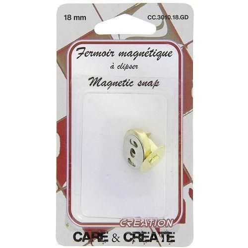 Fermoir magnétique 18 mm col.or