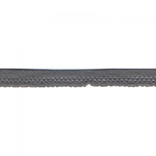 Elastique lingerie 13 mm gris
