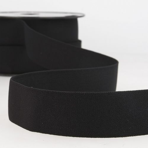Elastique boxer 32 mm 50%ny/34%lat/15%pol noir