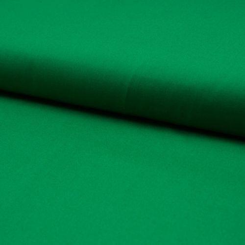 Tissu popeline unie vert gazon largeur 145 cm