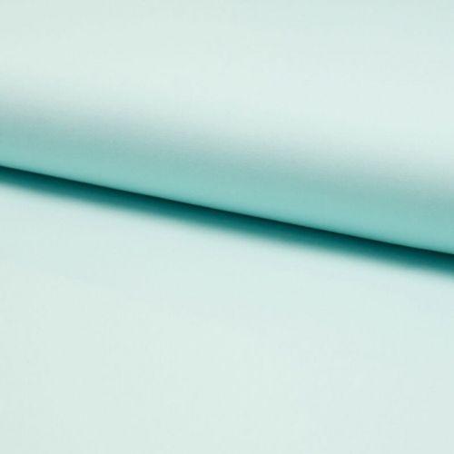 Tissu popeline unie vert menthe largeur 145 cm