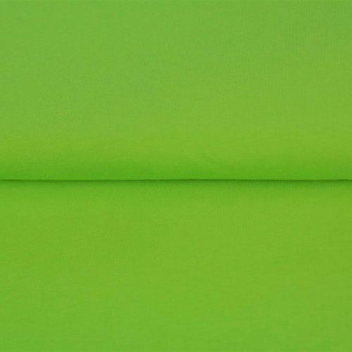 Bord côte vert rainette 95%cot/5%el larg 70 cm