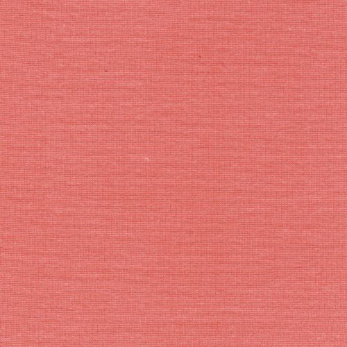 Bord côte rose corail 95%cot/5%el larg 70 cm