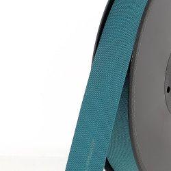 Biais replié 20 mm 50 % coton/50 % poly turquoise