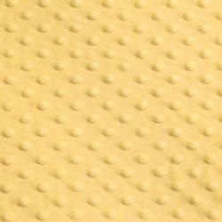 Tissu Minky dot banane largeur 150