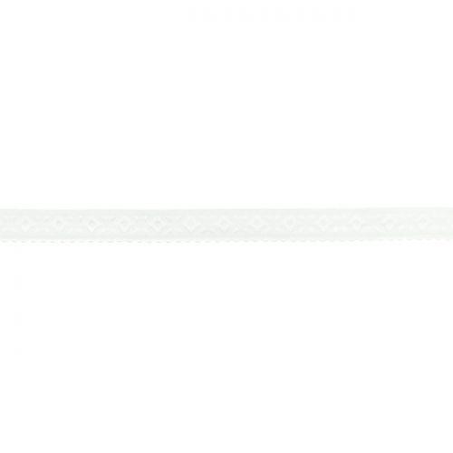 Elastique lingerie à cheval 11 mm blanc