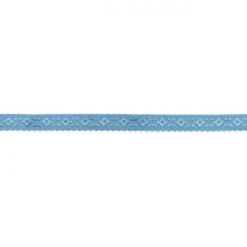 Elastique lingerie à cheval 11 mm bleu lavande