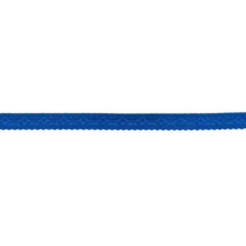 Elastique lingerie à cheval 11 mm bleu roi