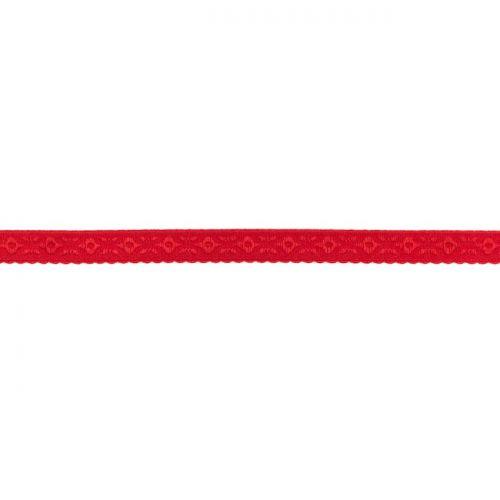 Elastique lingerie à cheval 11 mm rouge