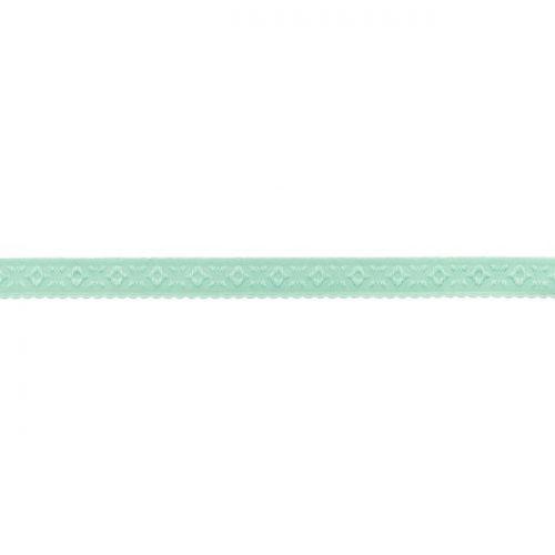 Elastique lingerie à cheval 11 mm vert menthe