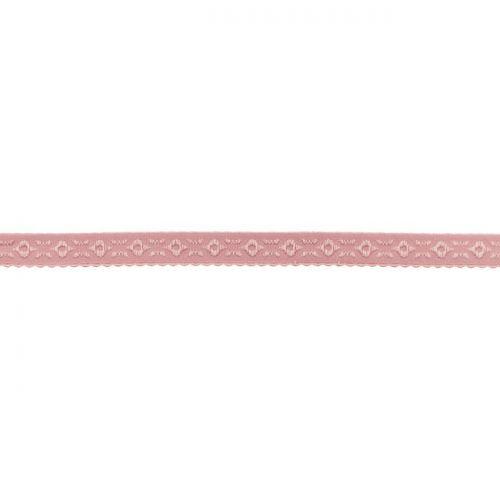 Elastique lingerie à cheval 11 mm vieux rose