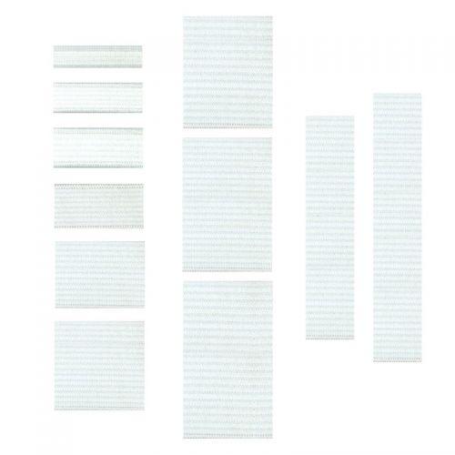 Elastique masque 4 mm blanc 60% polyester, 40 % latex