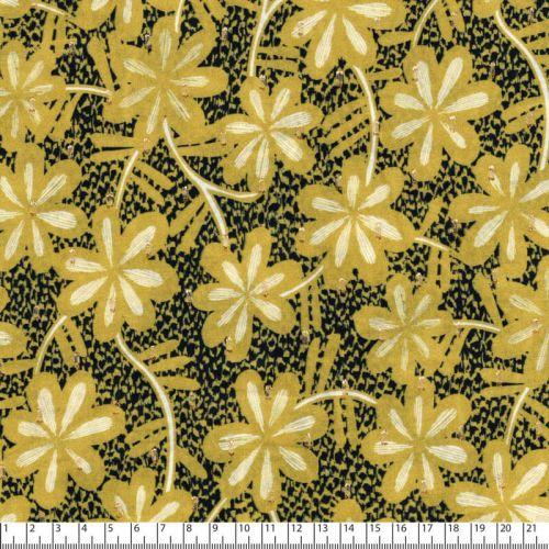 Tissu viscose Plumeria