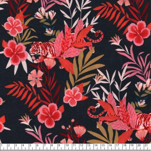 Tissu viscose jungle Colombo