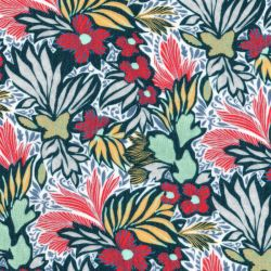 Tissu viscose tropical