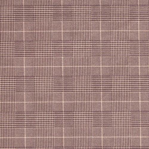 Tissu écossais tons de beige 92%pl/8%el larg 150 cm